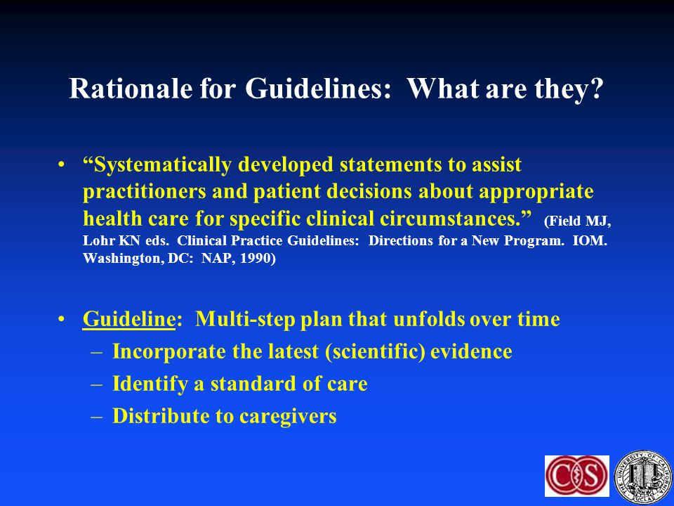 Who validates guidelines in IIS.