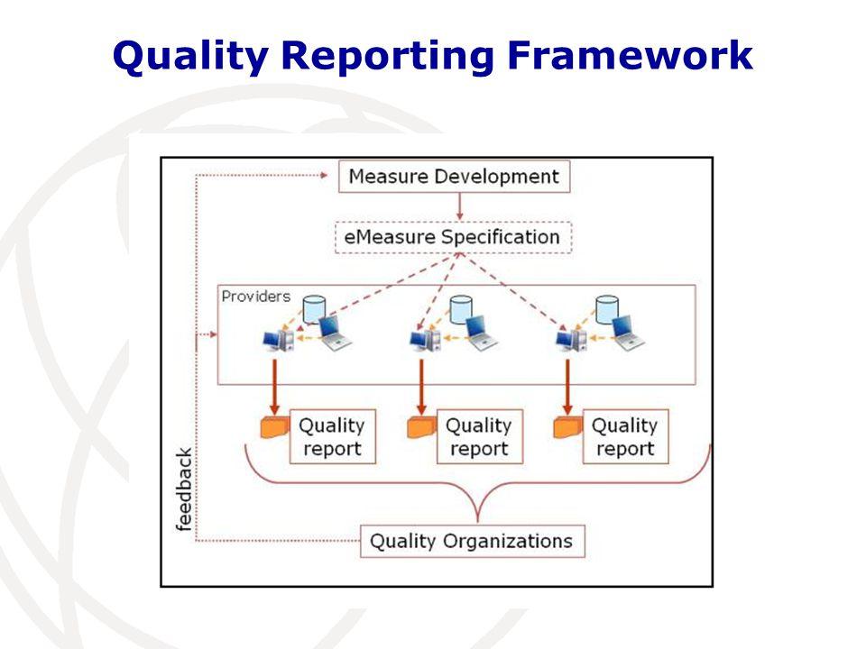 Quality Reporting Framework