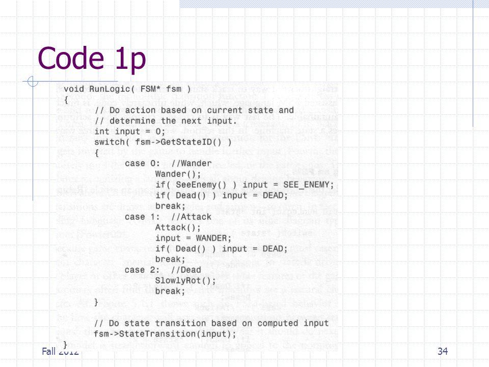 Fall 201234 Code 1p