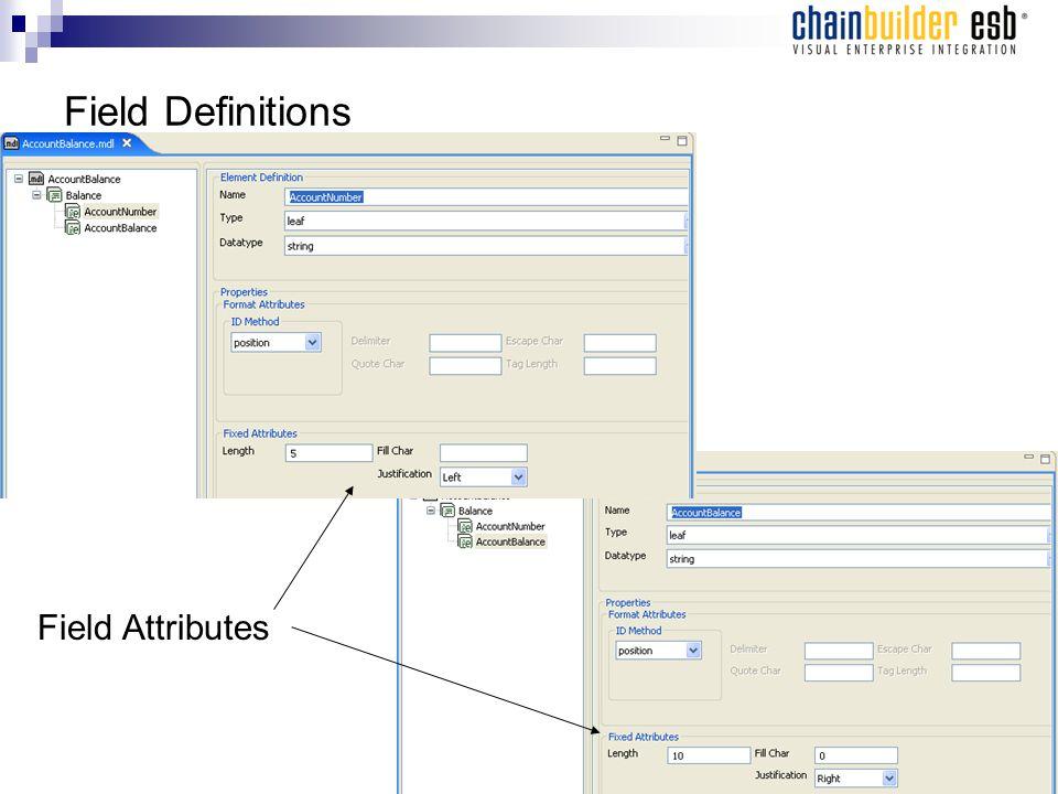 Field Definitions Field Attributes