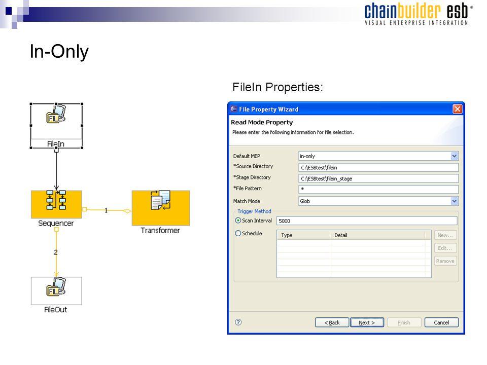 In-Only FileIn Properties: