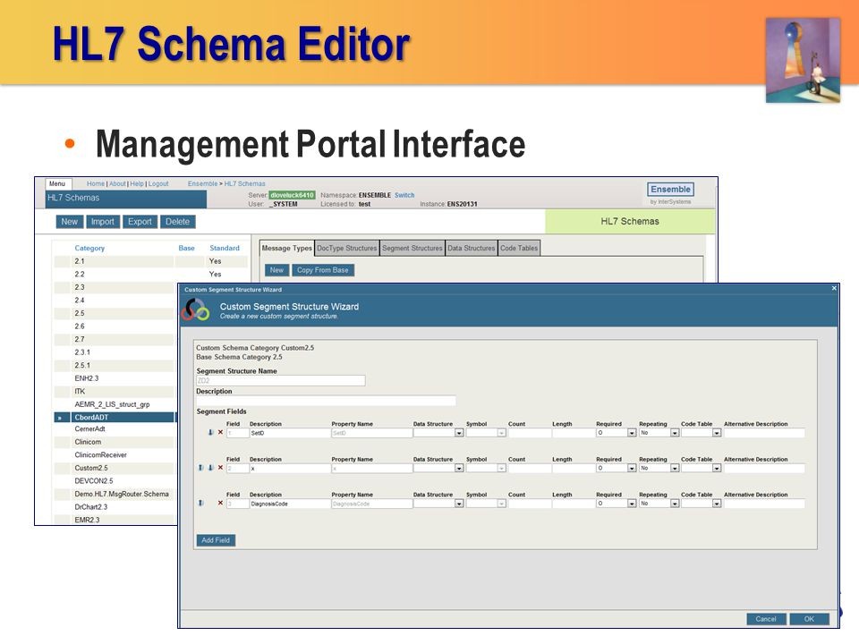 Management Portal Interface