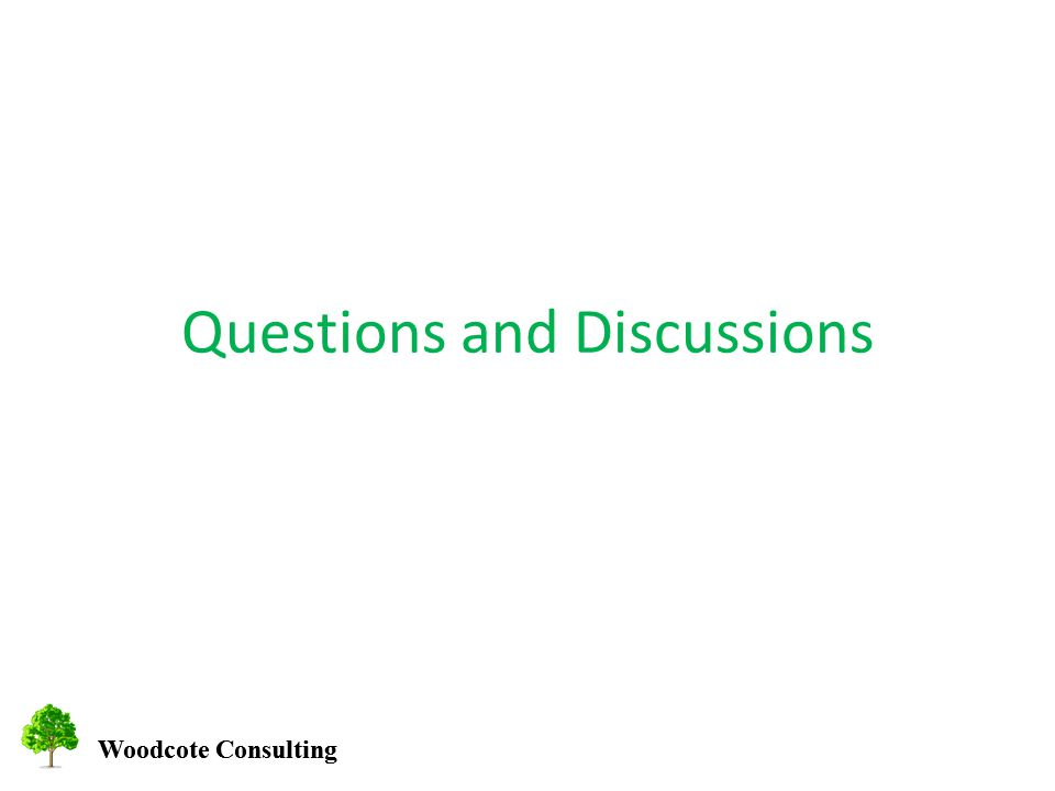 Woodcote Consulting Questions and Discussions