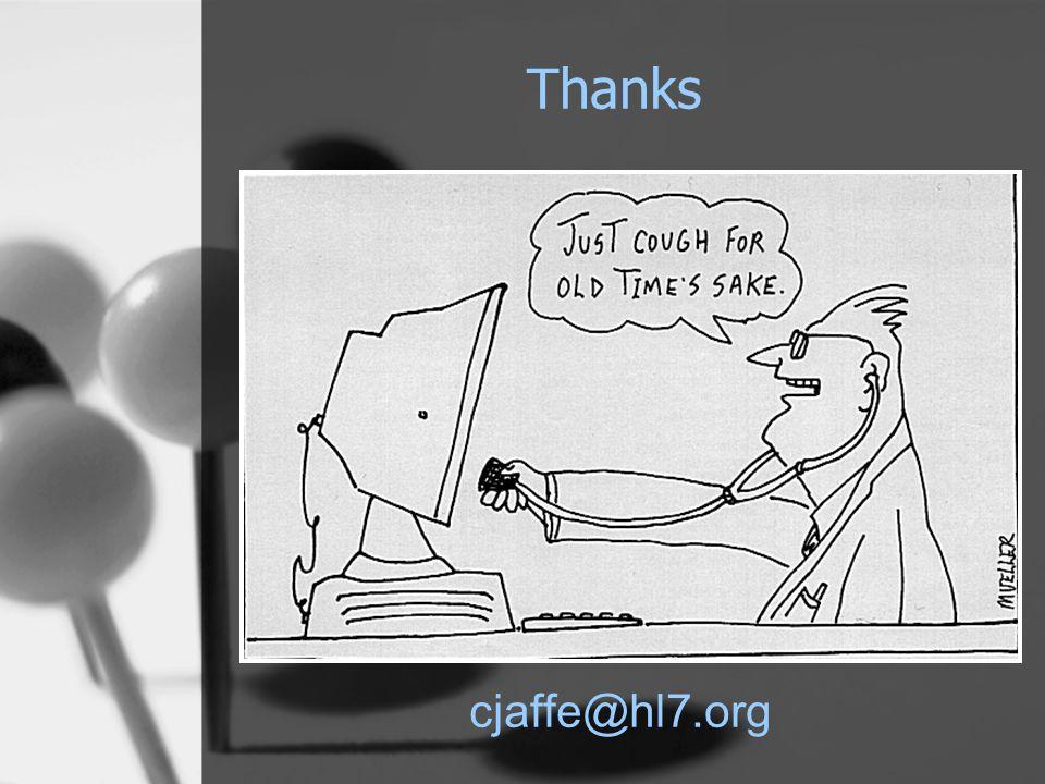 Thanks cjaffe@hl7.org