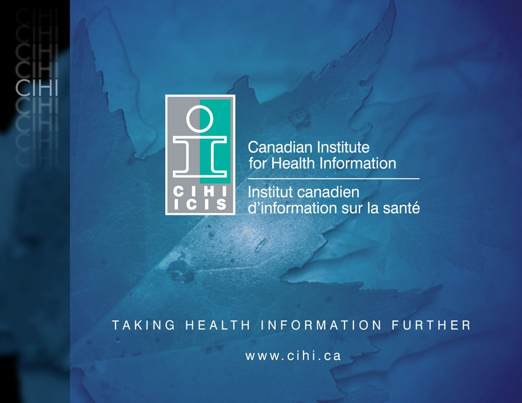 Drug Utilization Informing on: National Pharmacare National Formulary Catastrophic drug coverage/program Expanded drug coverage Disease management programs Primary care reform Outcome Measures –How healthy are Canadians.