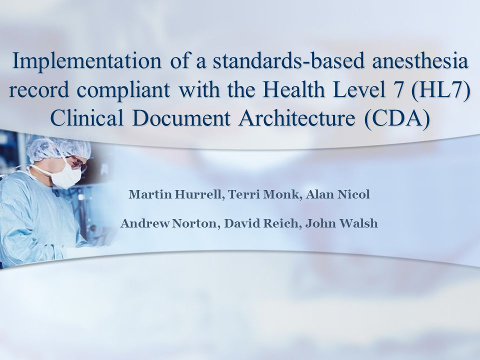 Interoperability Functional Functional – Shared architectures, methods, frameworks and technologies CEN ISO/IEEE 11073: Domain Information Model (DIM) Semantic Semantic – Shared data types, terminologies and coding systems CEN ISO/IEEE 11073: Nomenclature