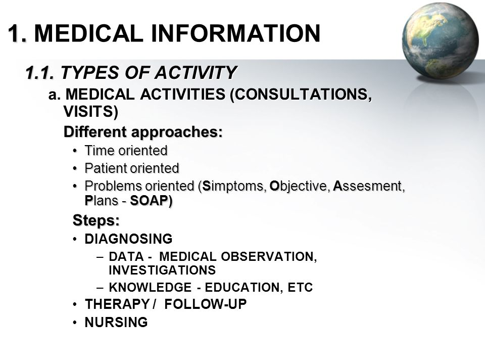 The Extended EHR Includes not only clinical information but essentially the whole health information landscape.