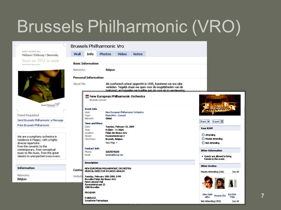 Mindex, Internet Consulting Services 7 Brussels Philharmonic (VRO)