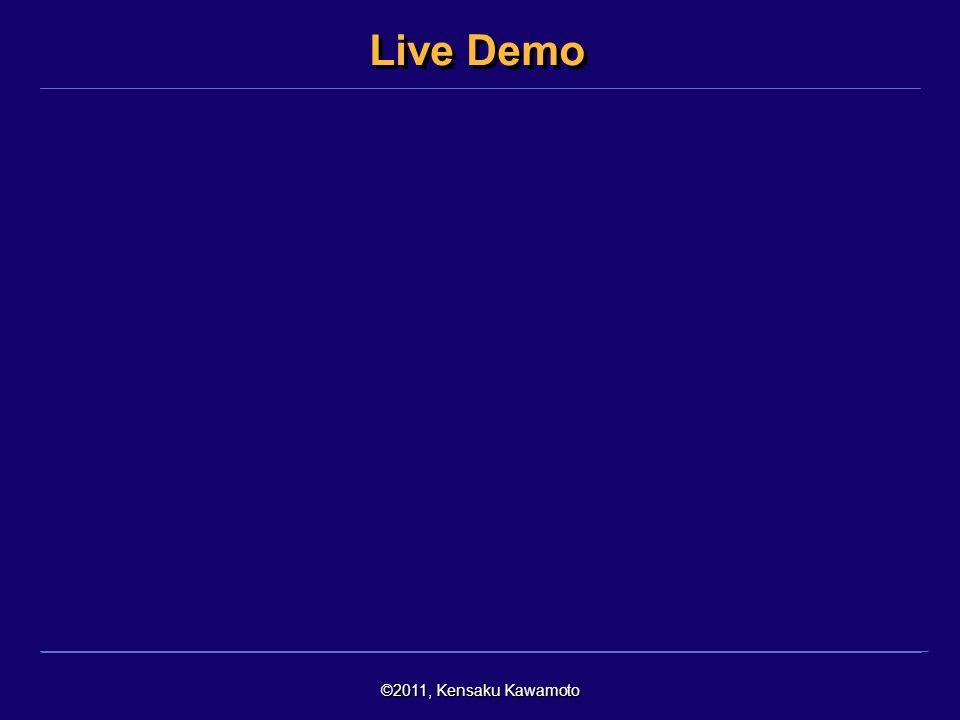©2011, Kensaku Kawamoto Live Demo
