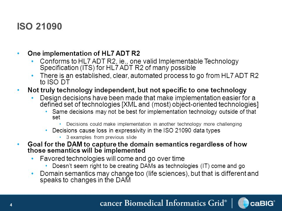 5 IRWG Questions What is the impact of binding to the HL7 ADT R2 to implementers.