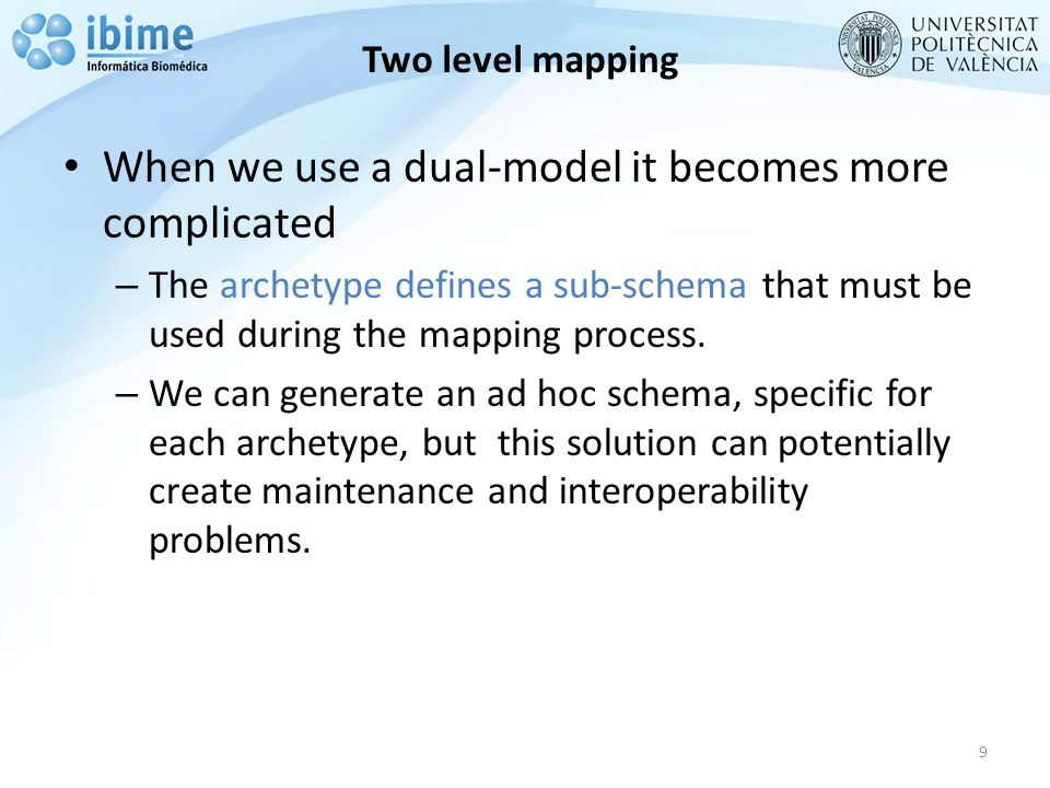 Two level mapping 10 www.linkehr.com LinkEHR Studio is a Reference Model- independent archetype tool.
