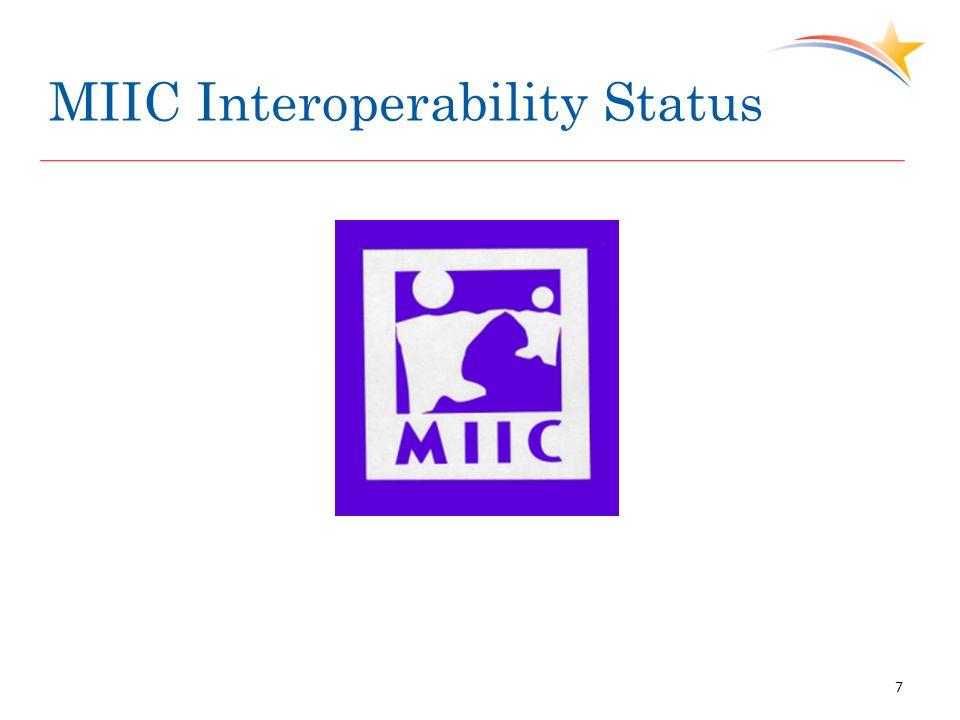 MIIC Interoperability Status 7