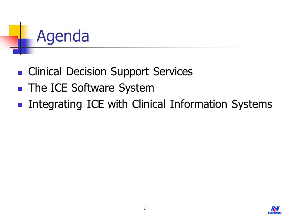 13 Ease of Adoption and Integration with Clinical Information Systems