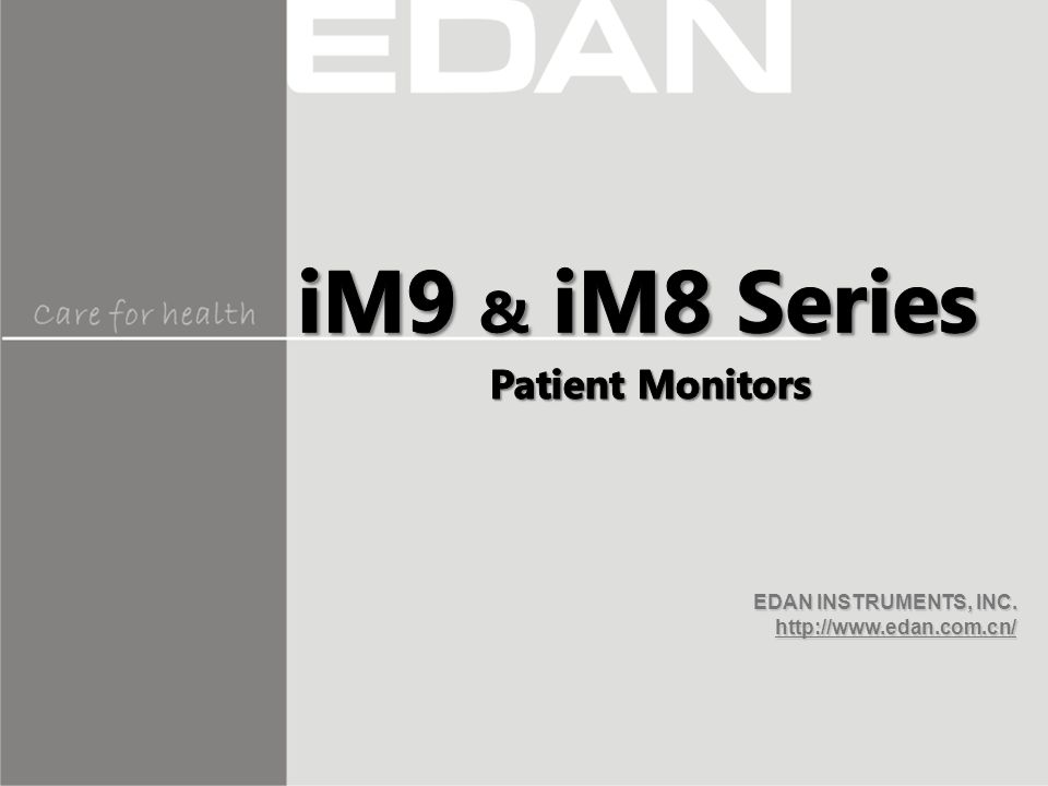 Care for Health  For intubated & non-intubated patients  Compact design  Eliminates the needs of periodic calibration  Suitable for any traditional ventilators  Short warm-up time  Suitable for Adult, Pediatric and Neonate patients