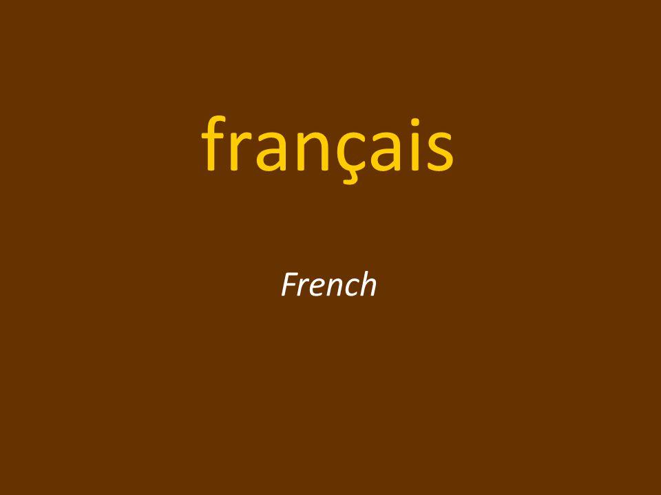 français French