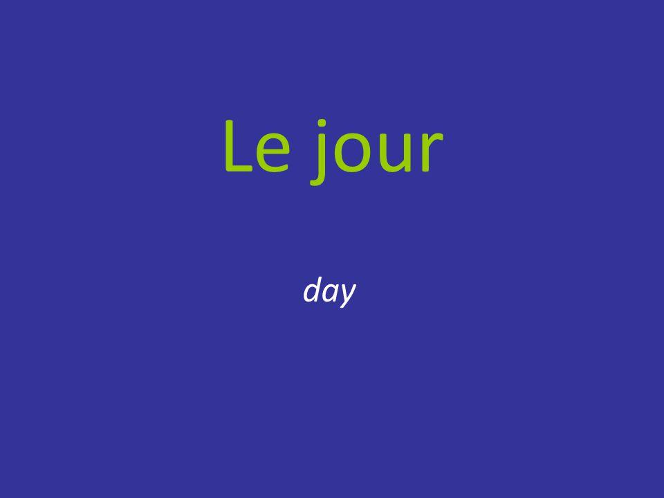 Le jour day