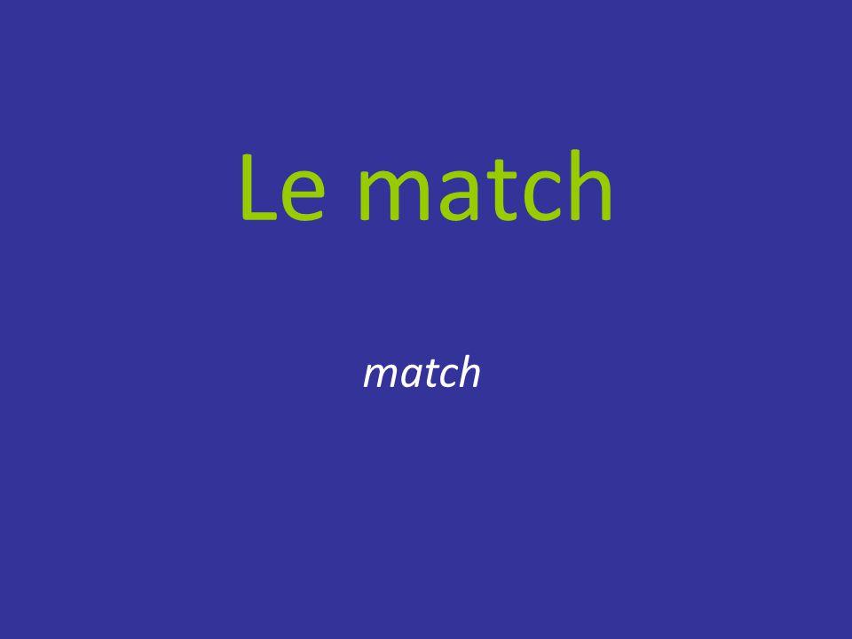 Le match match