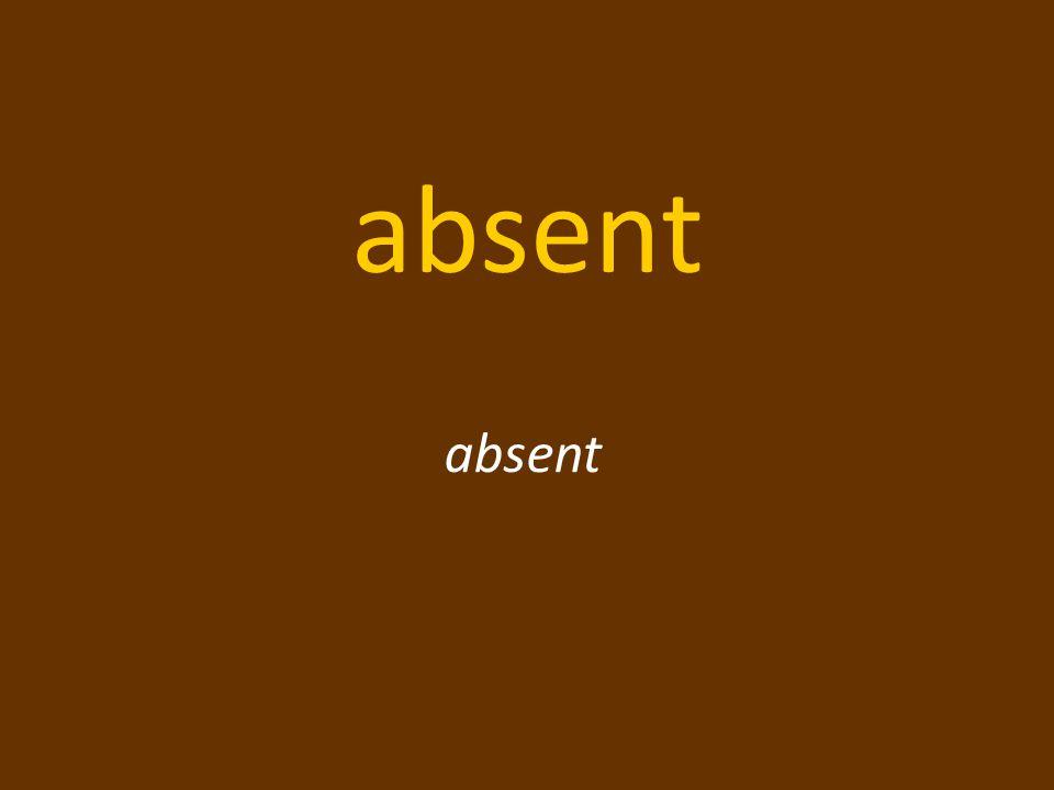L'accent accent