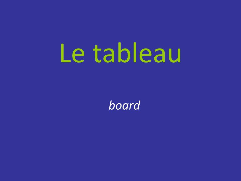 Le tableau board
