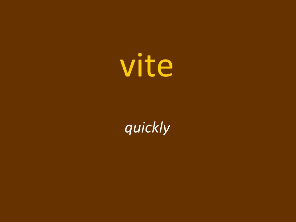 vite quickly
