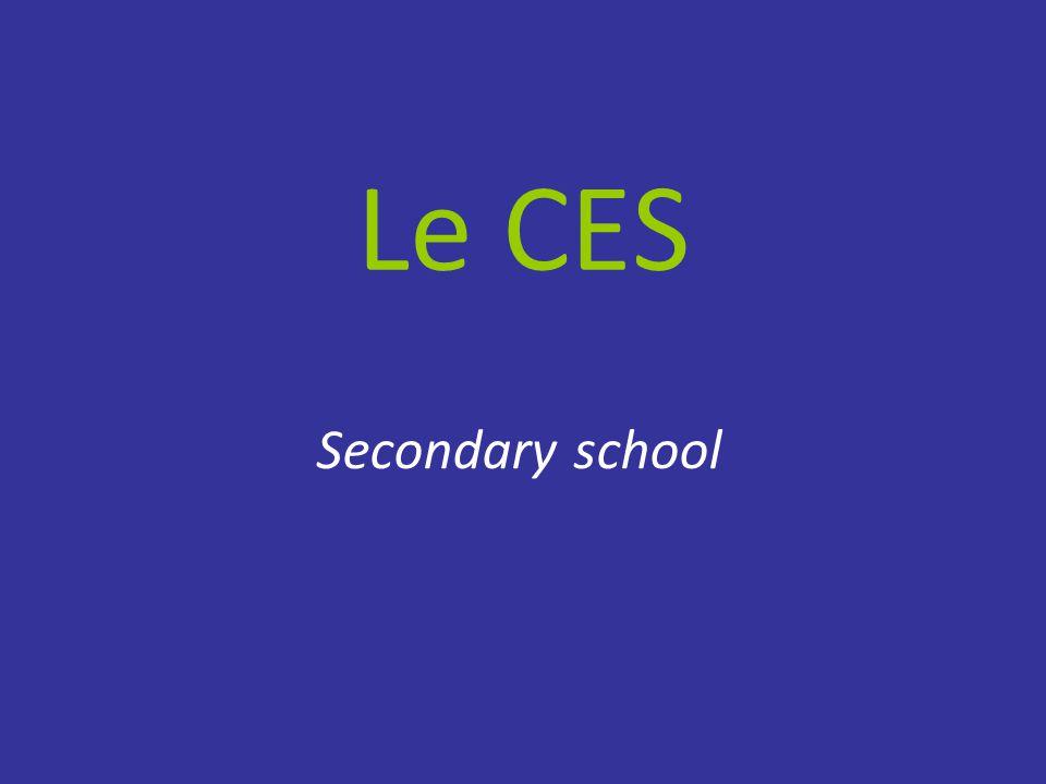 Le CES Secondary school