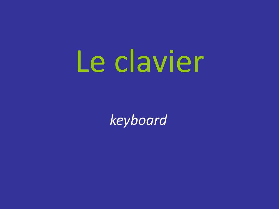 Le clavier keyboard