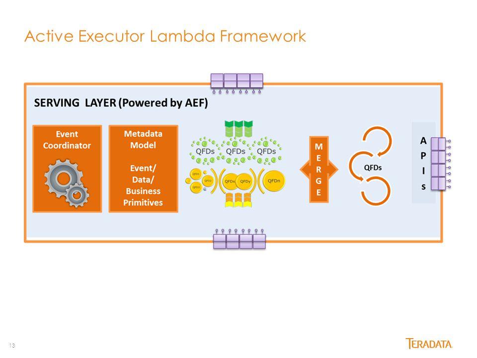 13 Active Executor Lambda Framework