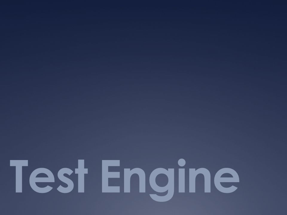 Test Engine
