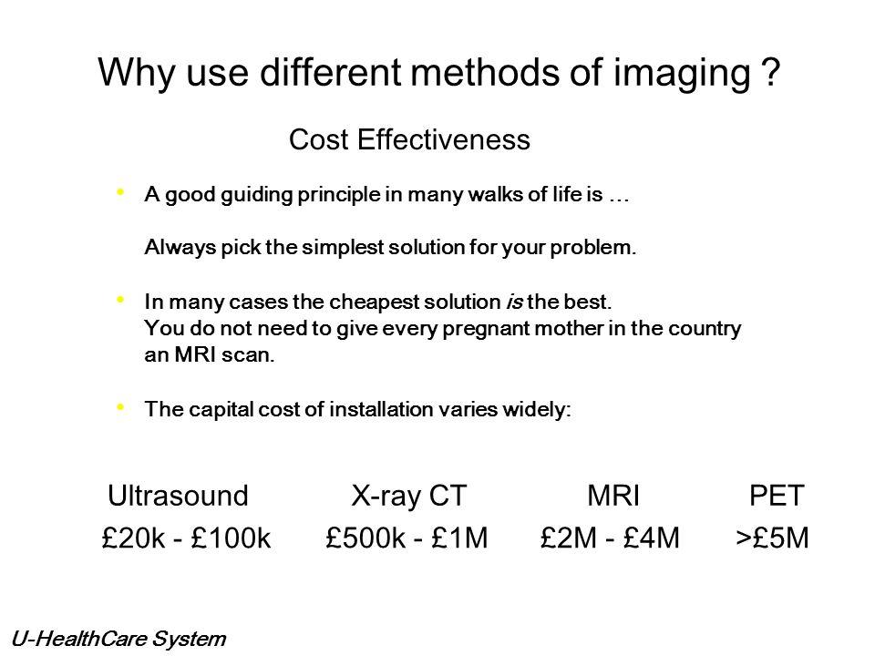 U-HealthCare System Medical Imaging Tech & PACS CT MRI PET/CT PACS DICOM