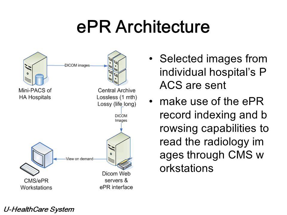 U-HealthCare System Broker service Broker main function: - Worklist generation - Reports storage Registration + Post exa m data capture (RIS) Acc # ge