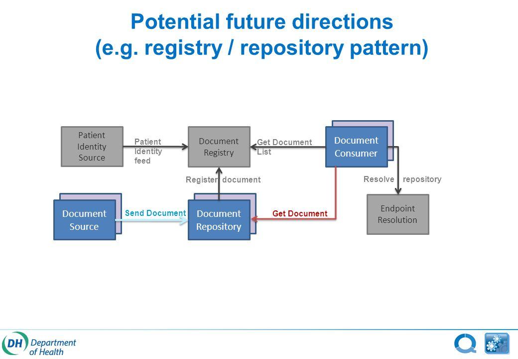 Potential future directions (e.g.