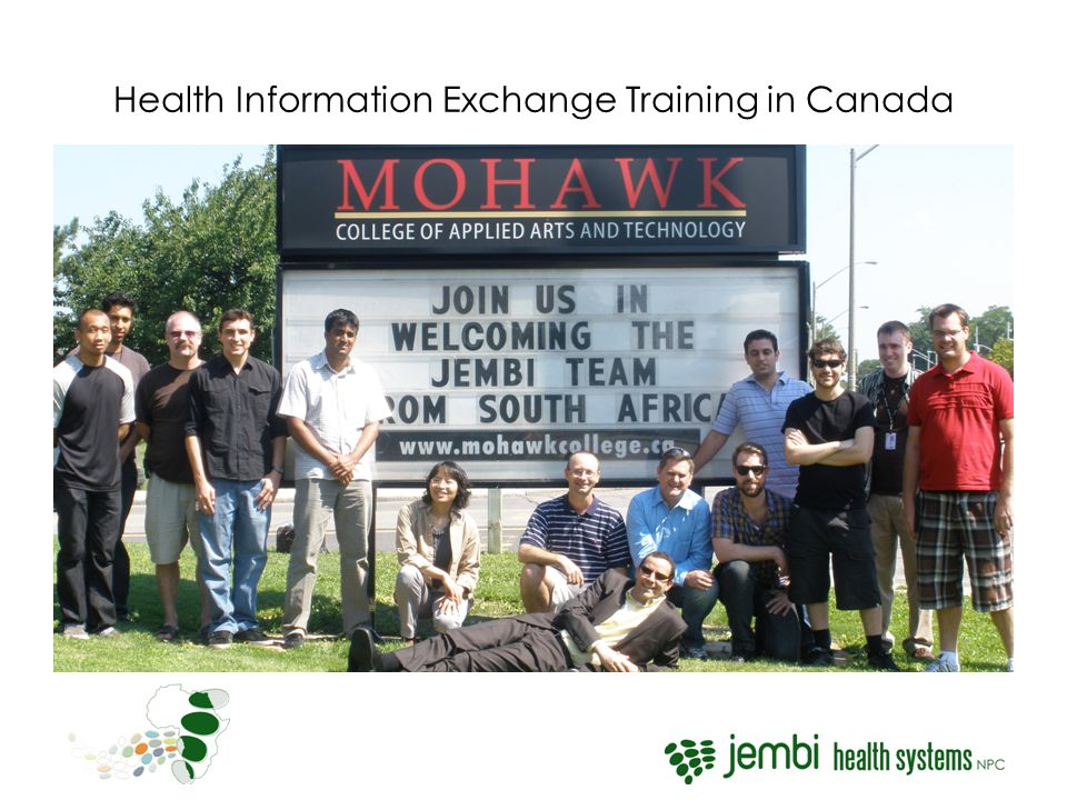 Health Information Exchange Training in Canada