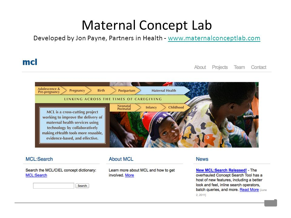 Maternal Concept Lab Developed by Jon Payne, Partners in Health - www.maternalconceptlab.comwww.maternalconceptlab.com