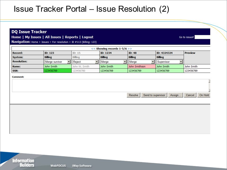 Issue Tracker Portal – Issue Resolution (2)