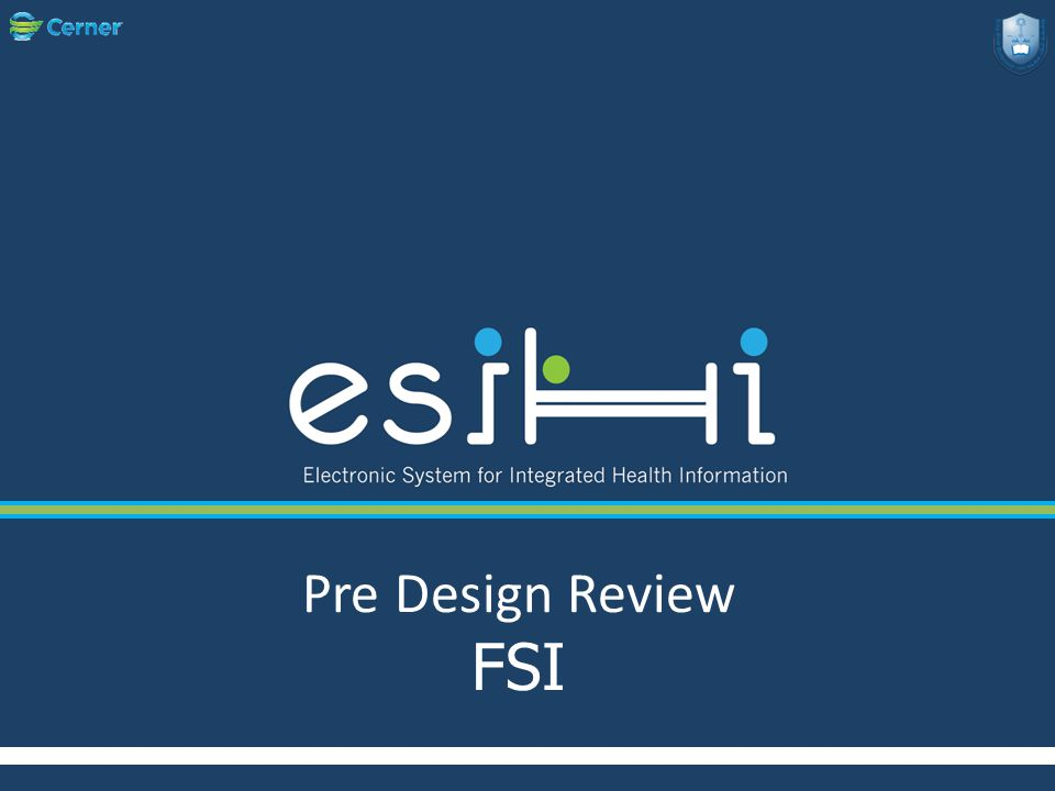 Pre Design Review FSI