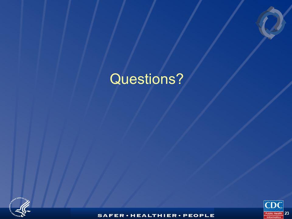 TM 23 Questions