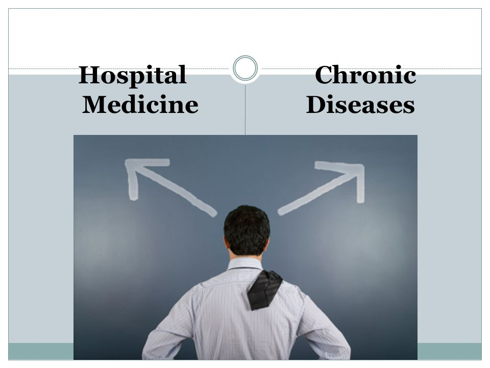 Hospital Medicine Chronic Diseases
