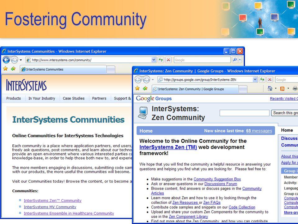 Fostering Community