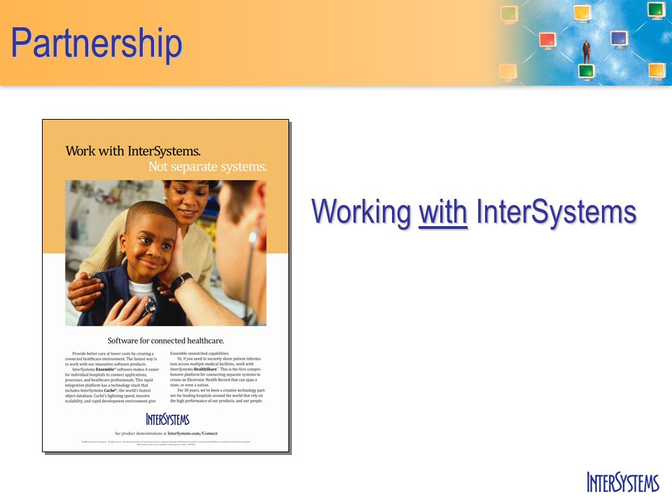 Partnership Working with InterSystems