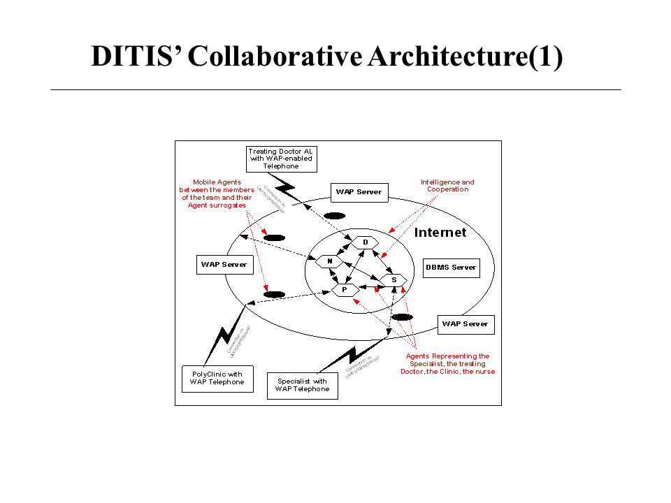 DITIS' Collaborative Architecture(1)