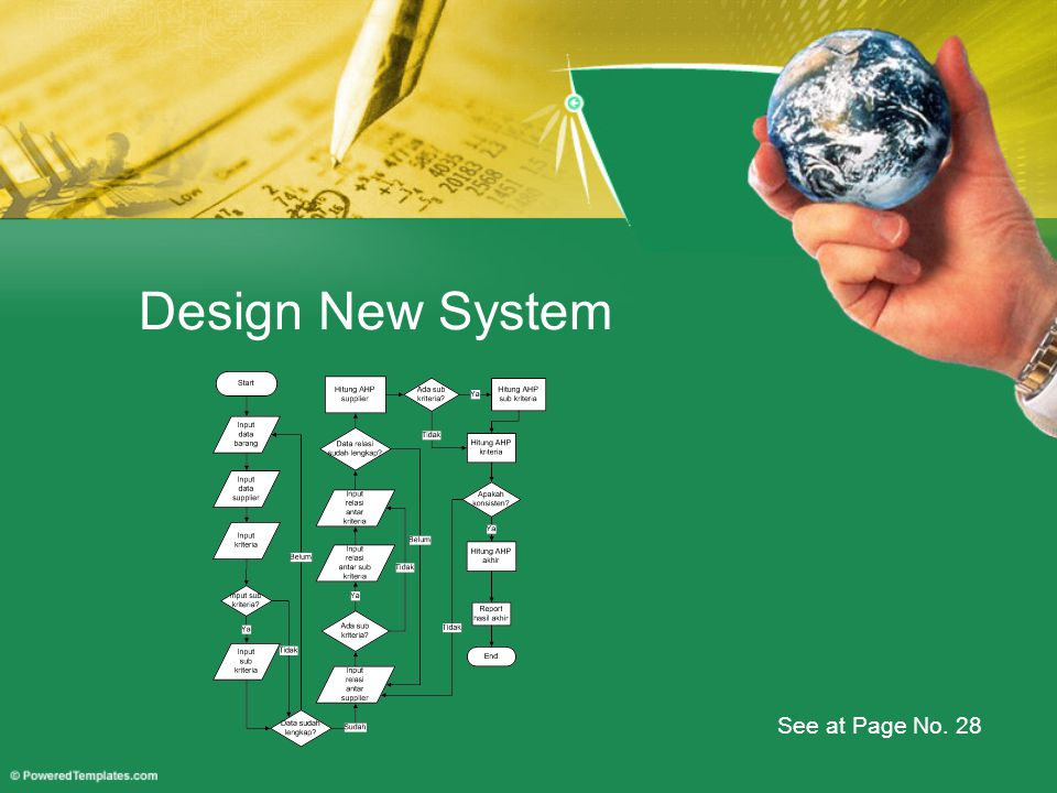 Design New System See at Page No. 28