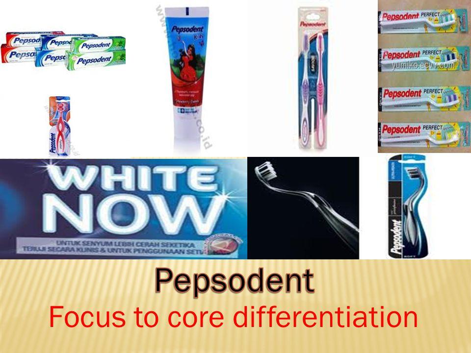 Focus to core differentiation