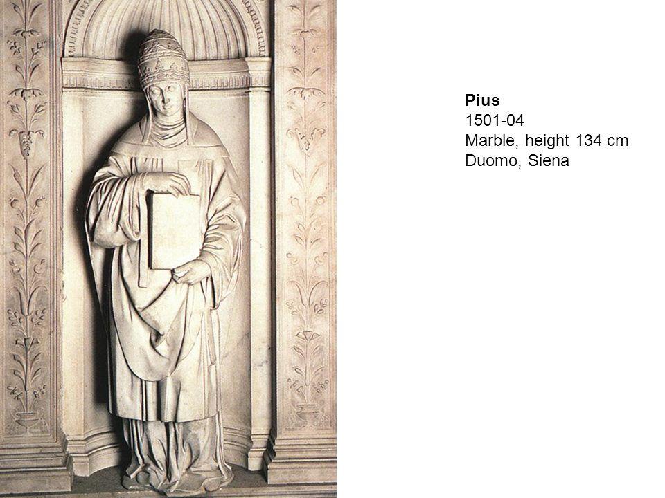 St Paul, 1501-04, Marble, height 127 cm, Duomo, Siena