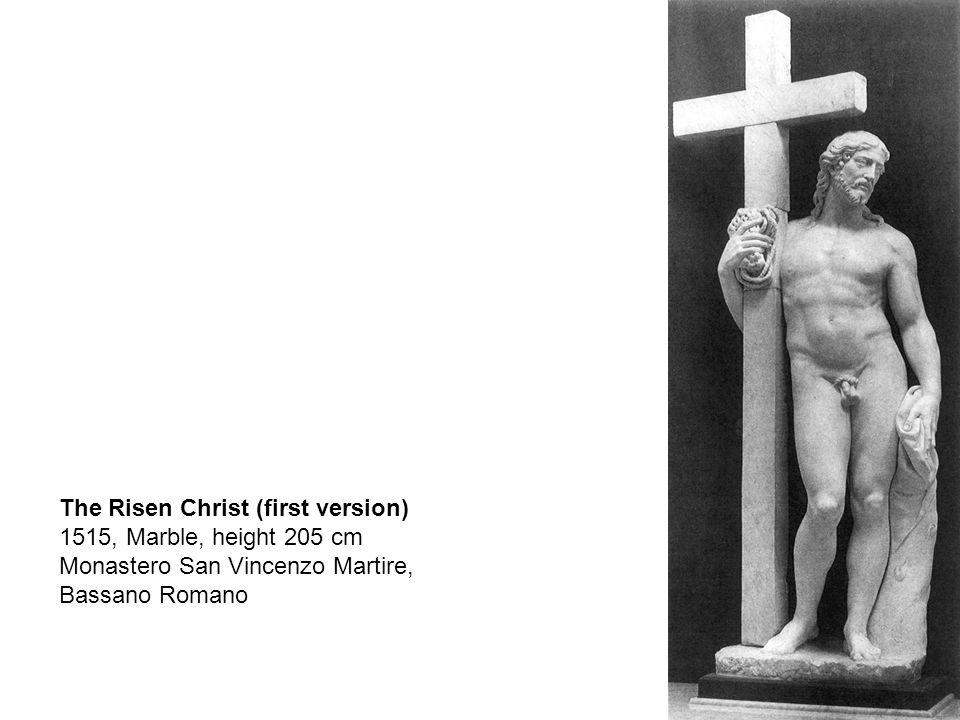 Risen Christ, 1521, Marble, height 205 cm, Santa Maria sopra Minerva, Rome