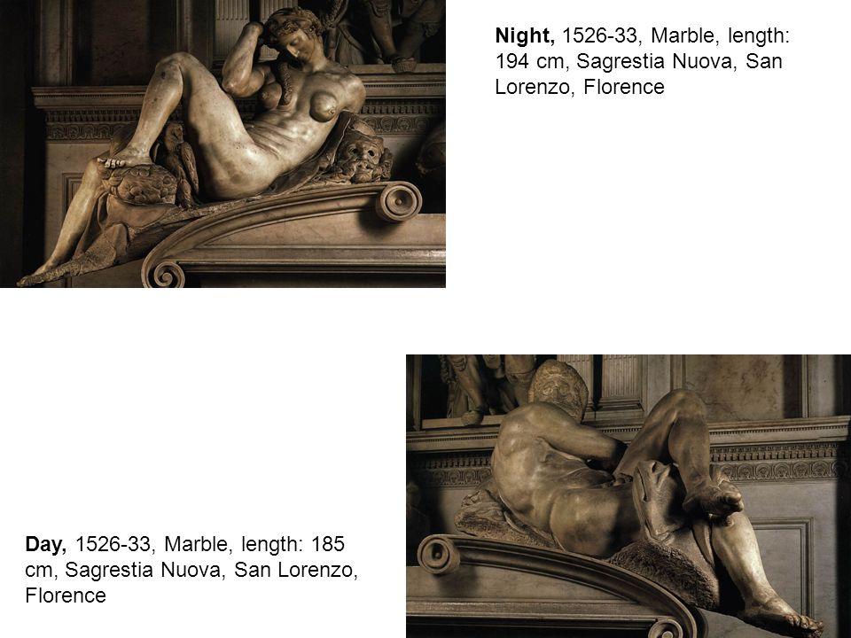 Tomb of Giuliano de Medici 1526-33, Marble, 630 x 420 cm Sagrestia Nuova, San Lorenzo, Florence