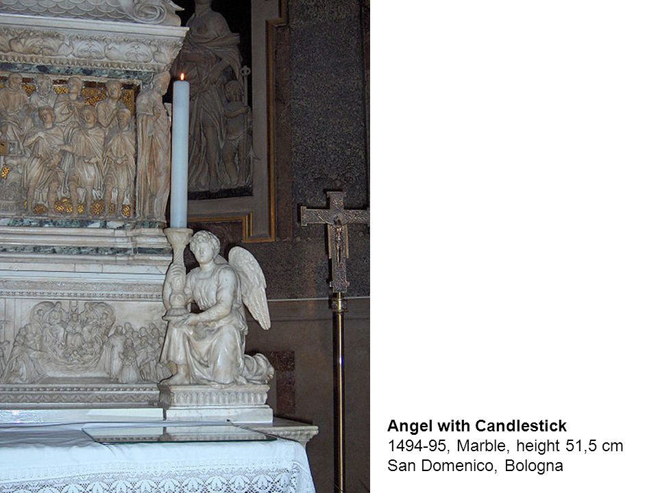 St Proculus, 1494, Marble, height: 58,5 cm with base San Domenico, Bologna