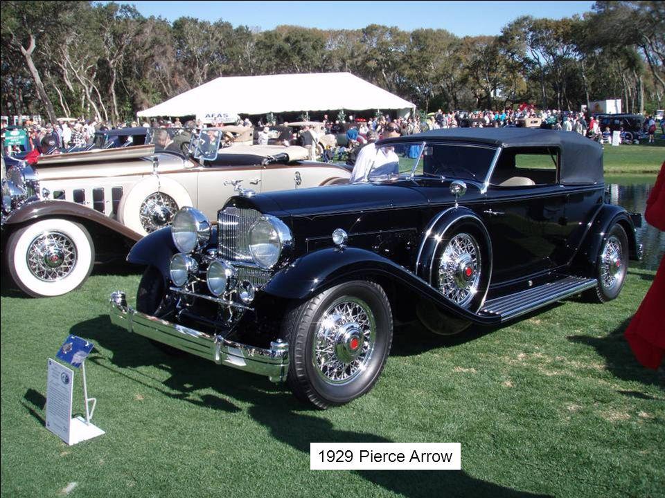 1929 Pierce Arrow