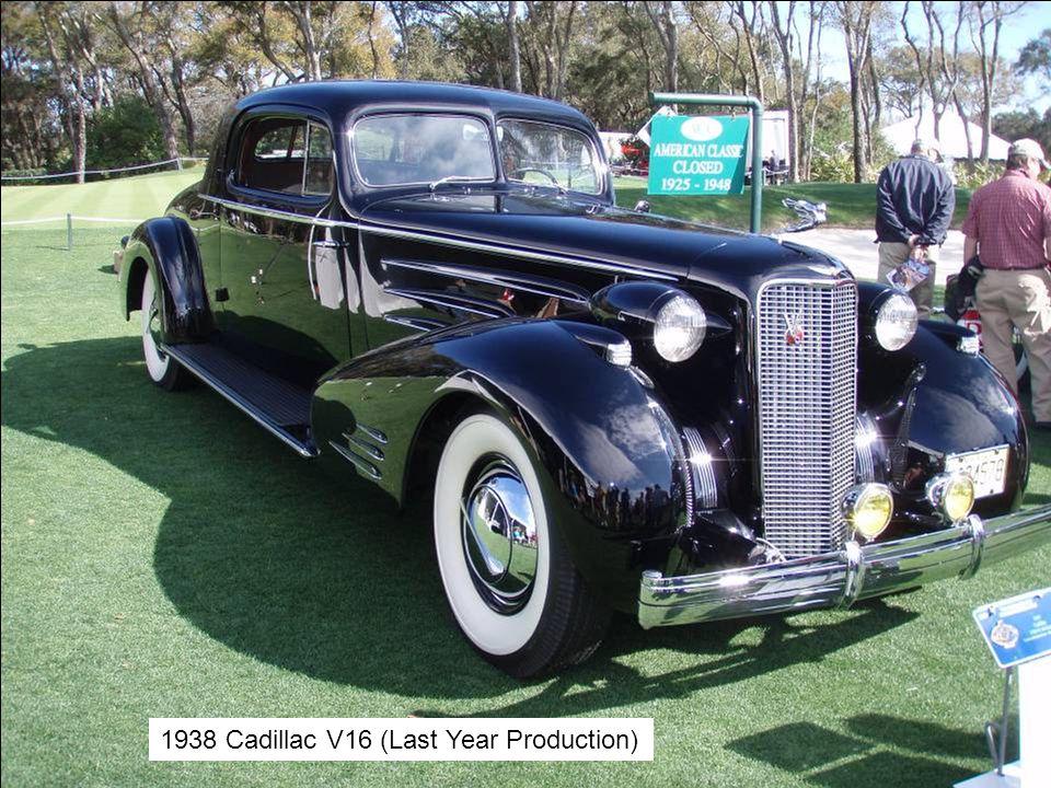 1938 Cadillac V16 (Last Year Production)