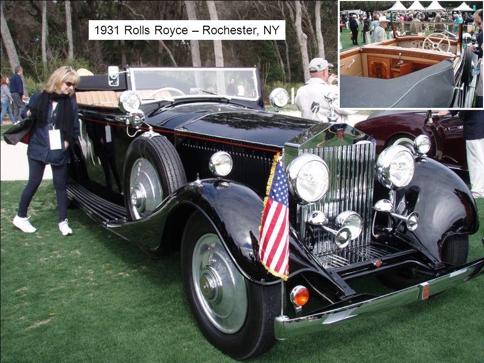 1931 Rolls Royce – Rochester, NY