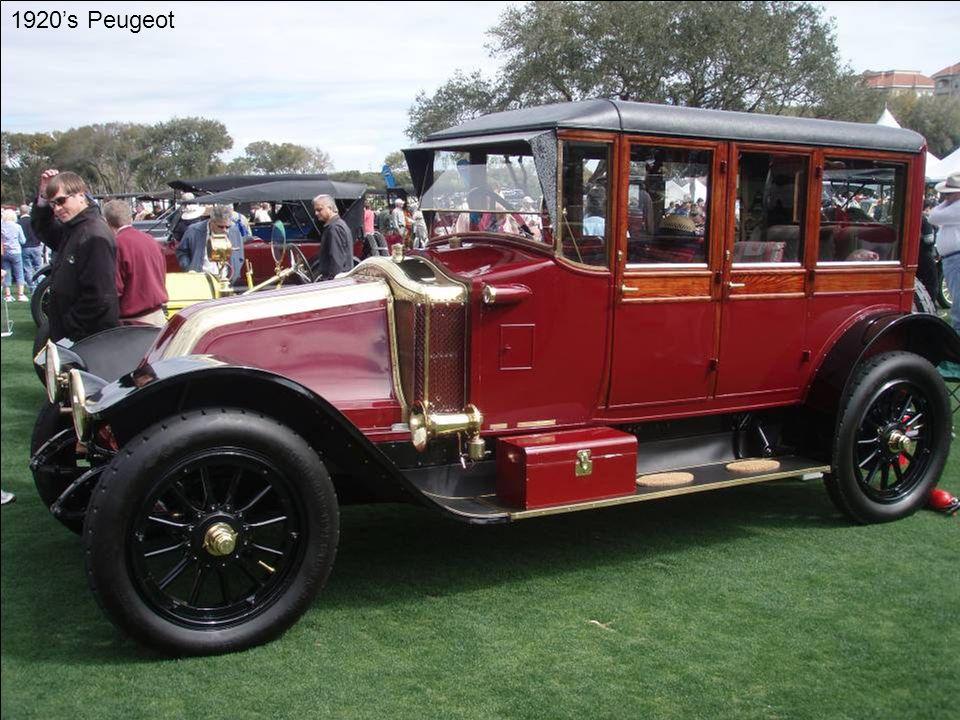 1920's Peugeot